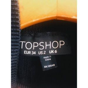 Topshop Tops - Topshop | ribbed crop turtleneck